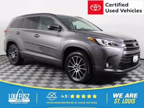 Certified Pre-Owned 2017 Toyota Highlander SE AWD Sport Utility