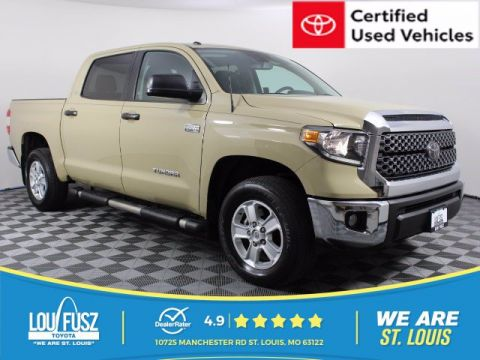 Certified Pre-Owned 2018 Toyota Tundra 4WD SR5 4WD Crew Cab Pickup