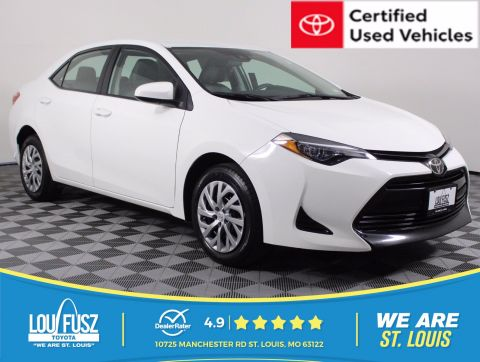 Certified Pre-Owned 2019 Toyota Corolla LE FWD Sedan