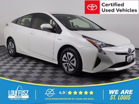 Certified Pre-Owned 2017 Toyota Prius Two FWD Hatchback